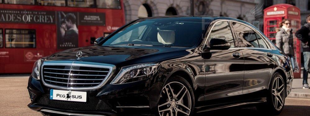 S-class с водителем в Лондоне